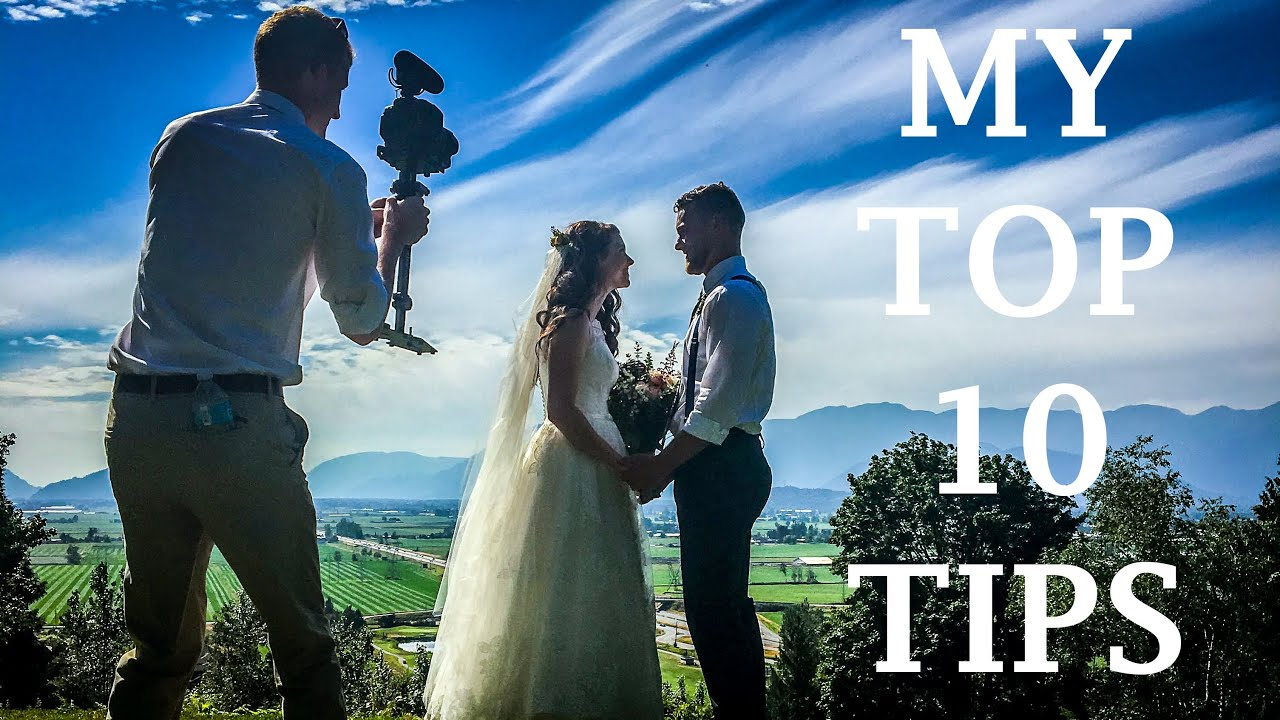 How To Shoot A Wedding Film By Yourself