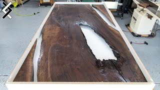 How To Make an Epoxy Table Mold - DIY Epoxy Resin Table