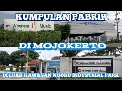 KUMPULAN PABRIK DI MOJOKERTO DILUAR KAWASAN NGORO INDUSTRIAL PARK (Part 1)