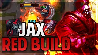 ¡LA RED BUILD DE JAX! DAÑO Y ENFRIAMIENTOS ABSURDOS! | League of Legends