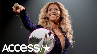 Beyoncé Shares The First Look At Her Vow Renewal Gown With Jay-Z | Access
