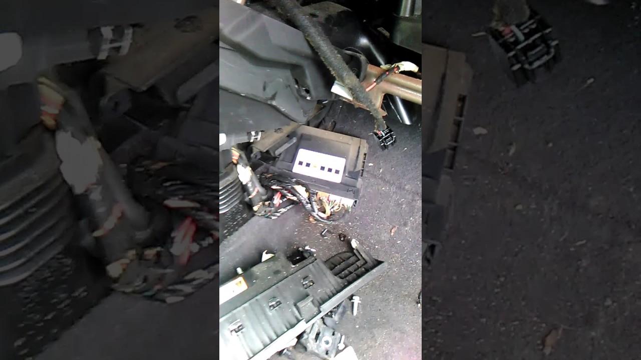 2014 Chevrolet Malibu Wiring Diagram Chevy Cruz Bcm Removal Youtube