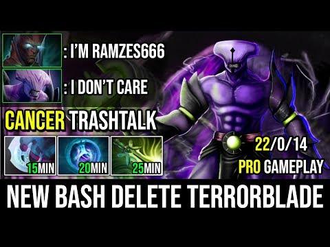 1Item Per 5Min [Faceless Void] Insane Bashing Machine New Time Lock Vs Ramzes Terrorblade Dota 2