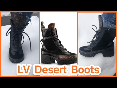 BOUJEE ON A BUDGET// Cheap Louis Vuitton Desert Boots for $78 vs $1400