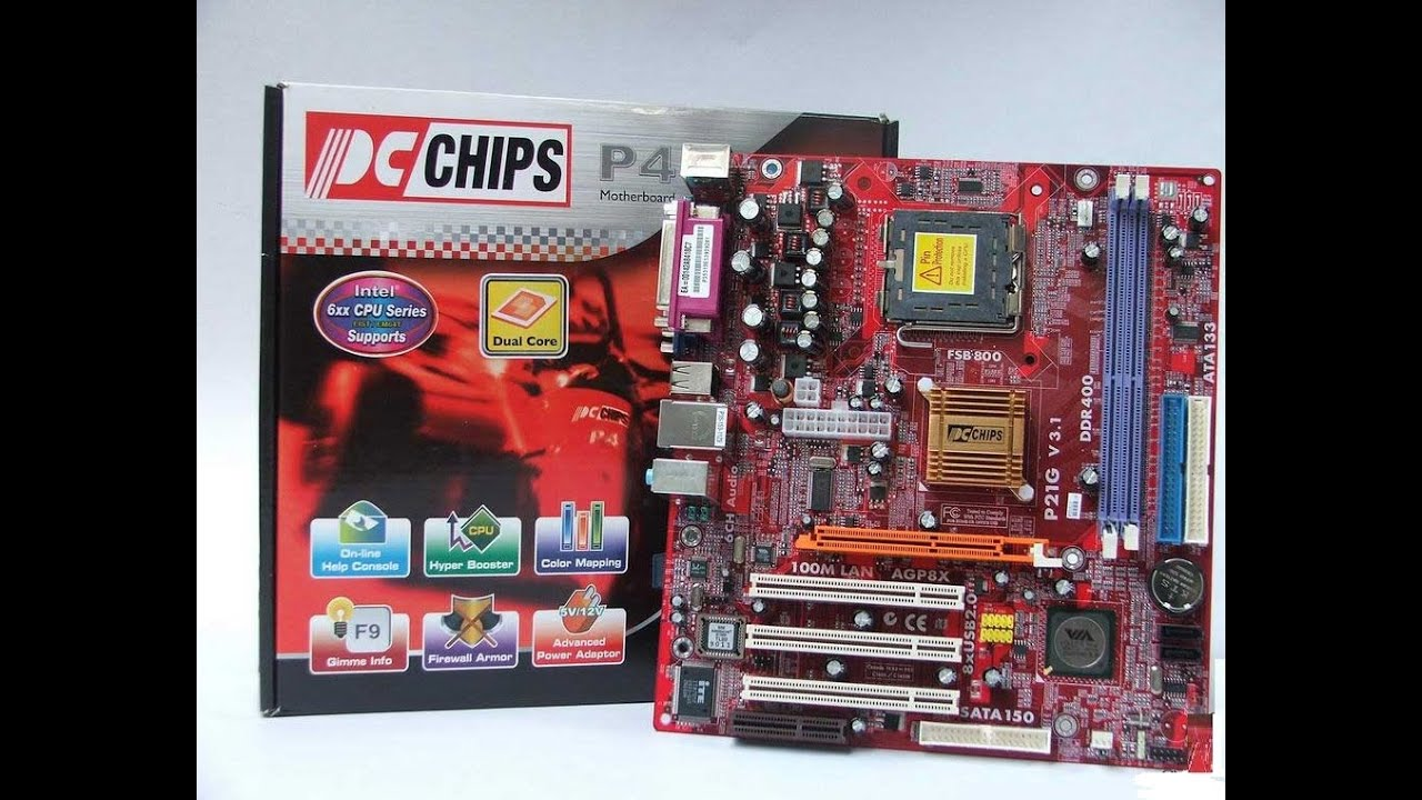 PCChips P43G Intel Chipset Installation Driver PC