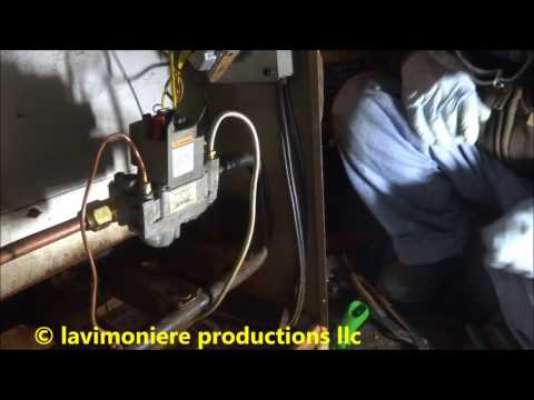 gas furnace not safe to operate