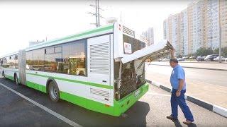 парковка автобуса. Образовательный видеоролик  Bus Parking. Educational video