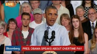 Obama: We're Updating the Rules on Overtime