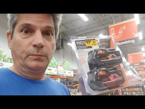 Home Depot:Tool Deals From Rigid, Milwaukee,  Ryobi