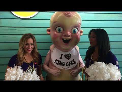 Crash - King Cake Baby Sues Happy Death Day!