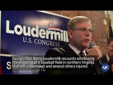 VIDEO: Georgia Rep. Barry Loudermilk recounts Alexandria shooting