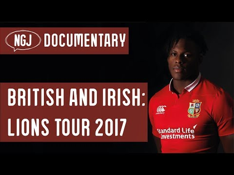"""Lions Rugby Tour 2017 HD Mini Documentary """"The Story Of The Tour"""" RMV"""