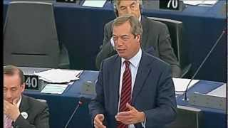 Nigel Farage destroys Barroso