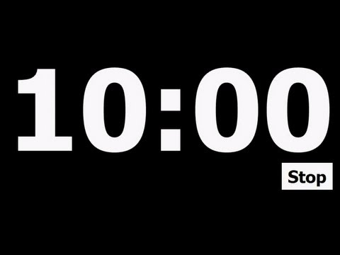 10 Minute Countdown Timer - YouTube