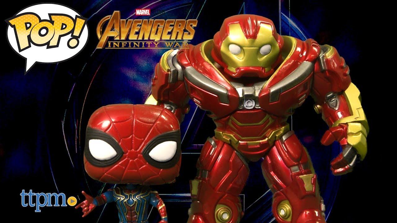 d1d6e59bf9b Funko Pop! Avengers Infinity War Iron Spider and 6