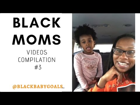 BLACK MOMS Video Compilation #3 | Black Baby Goals