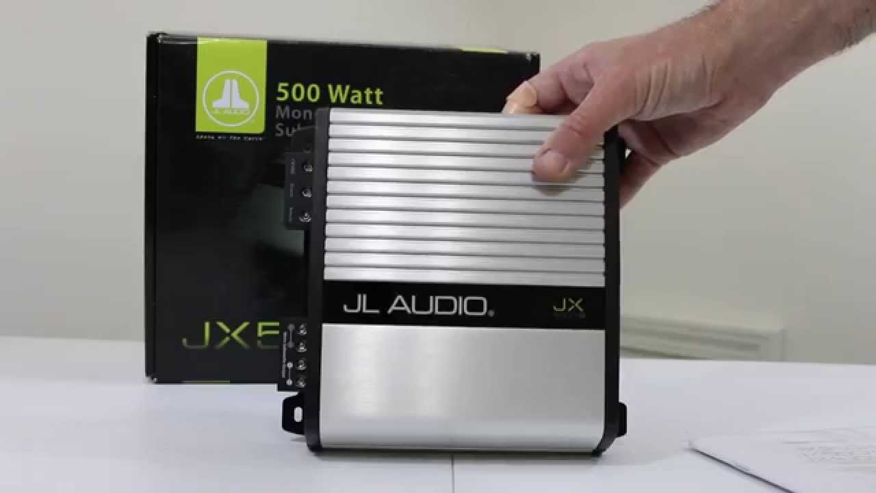maxresdefault jl audio jx500 1d subwoofer amp first look & unboxing! youtube jl audio jx500/1 wiring diagram at alyssarenee.co