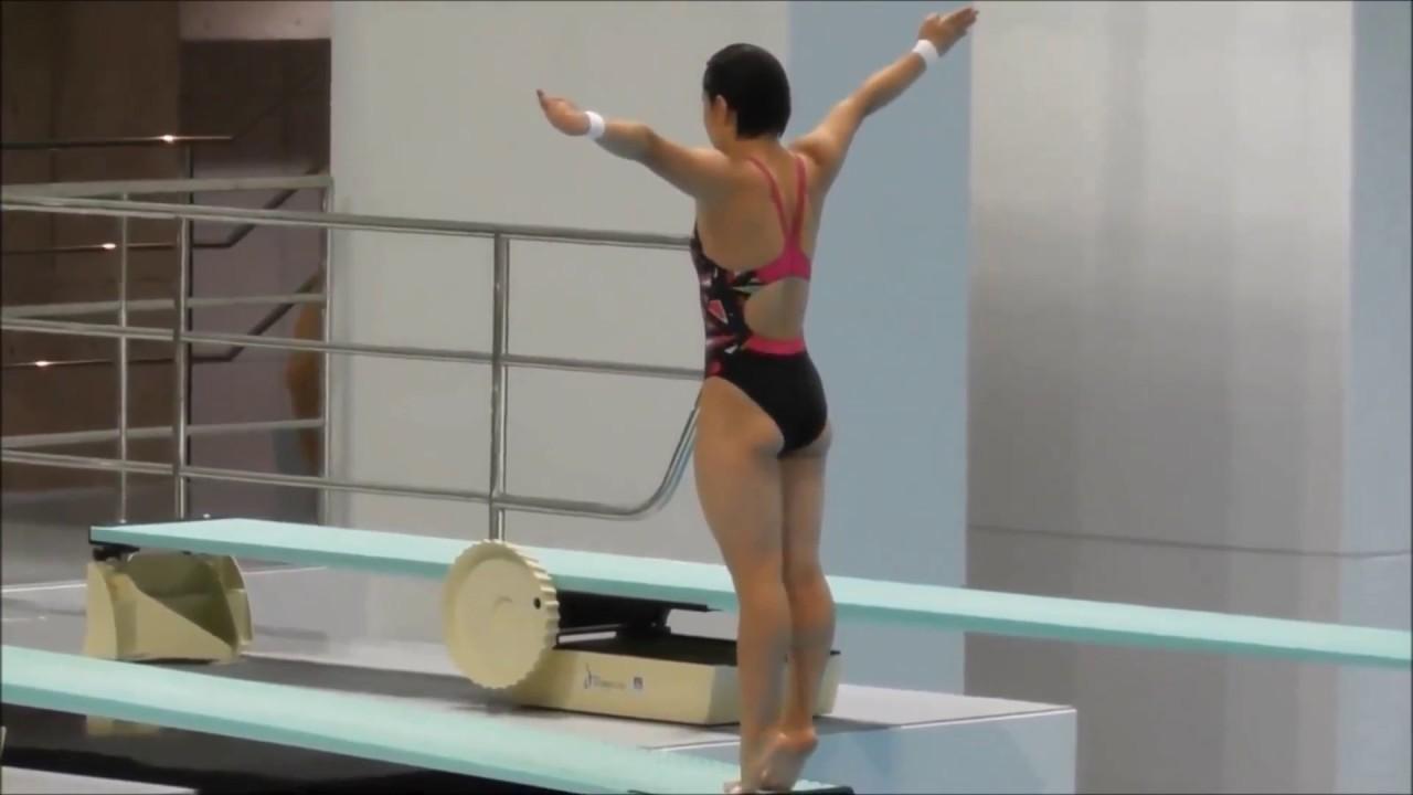 第93回 日本選手権水泳競技大会 飛込競技大会 3m飛板飛込 決勝 板橋 ...