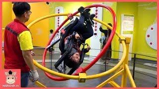 키즈카페 어린이 과학 우주 무중력 체험 놀이 ♡ 팽이 낙하산 놀이터 방탈출 교육 놀이 indoor playground family fun | 말이야와아이들 MariAndKids
