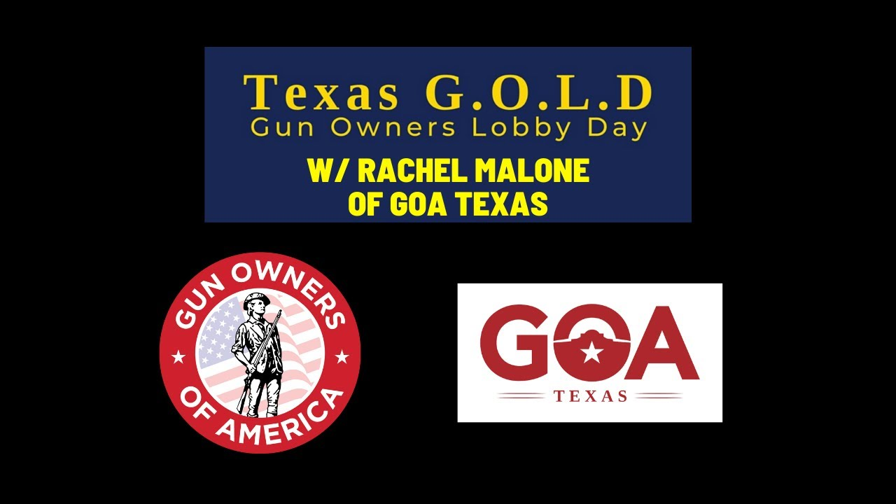 Texas Gun Owners Lobby Day with Rachel Malone of Gun Owners of America