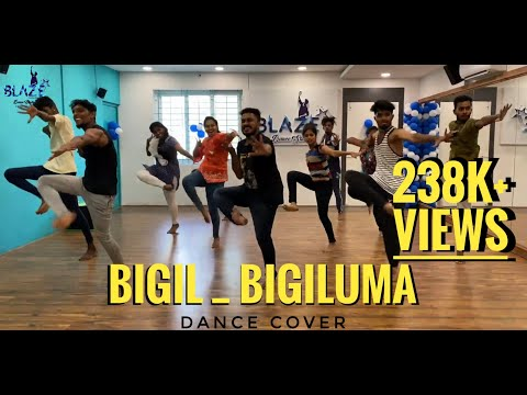 Bigil-Bigil Bigil Bigiluma vide by Blazedancestudio   vijay, Nayanthara   A.R Rahman   Atlee
