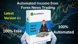Forex News Trading EA Robot Free - FRZ News Robot New Version