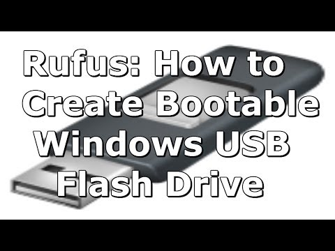 (Rufus) How to Create a Windows 8 (8.1) Bootable USB Flash Drive