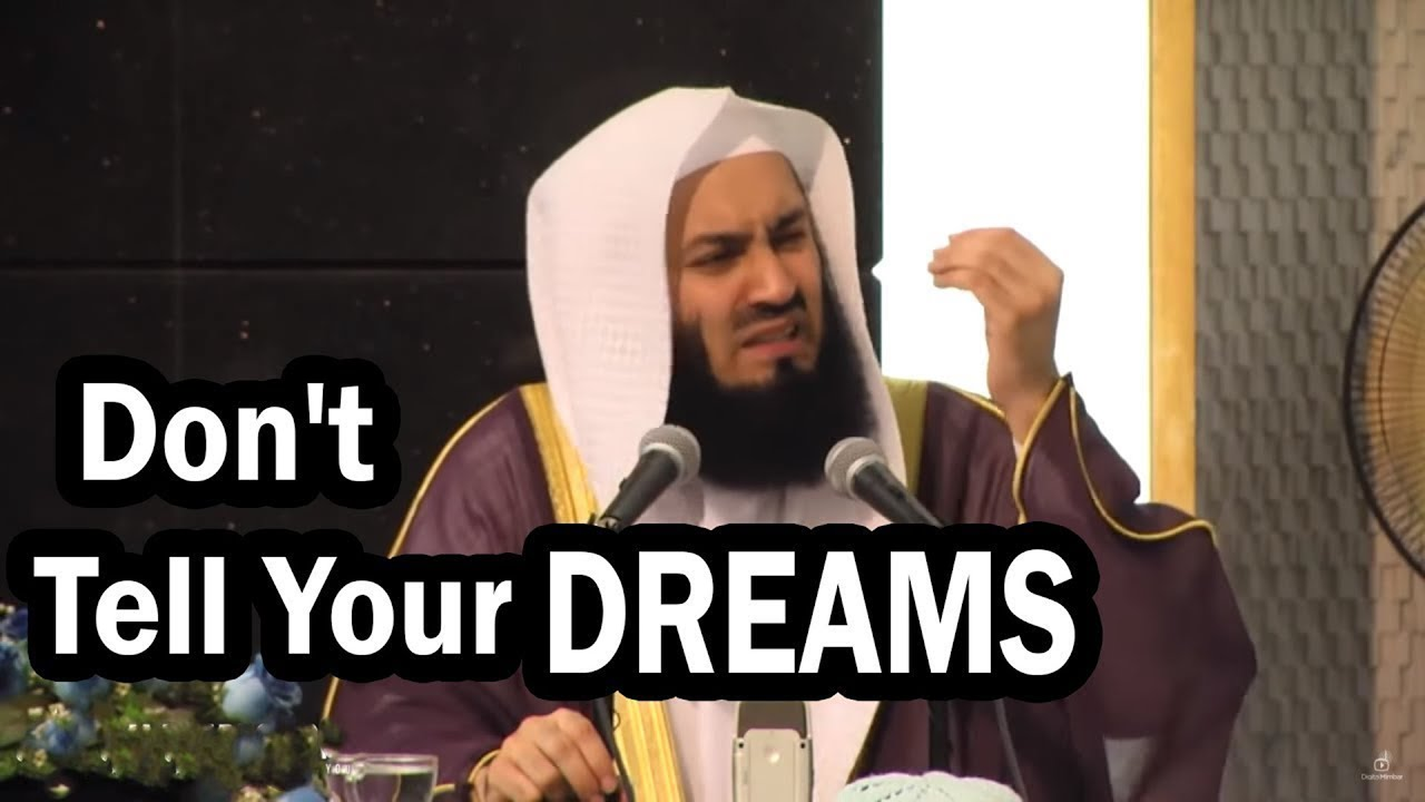 Why You Shouldn't Tell People about Your Plans & Dreams? By Mufti Menk