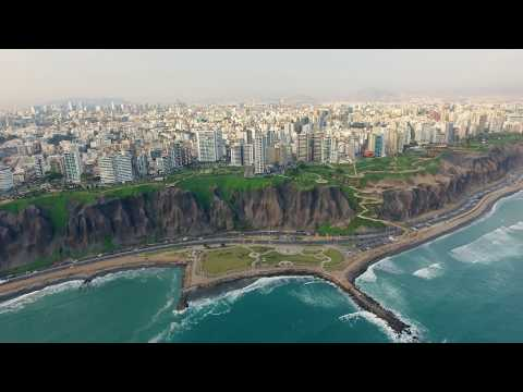 Lima Peru From Above || 4k Drone Travel Film