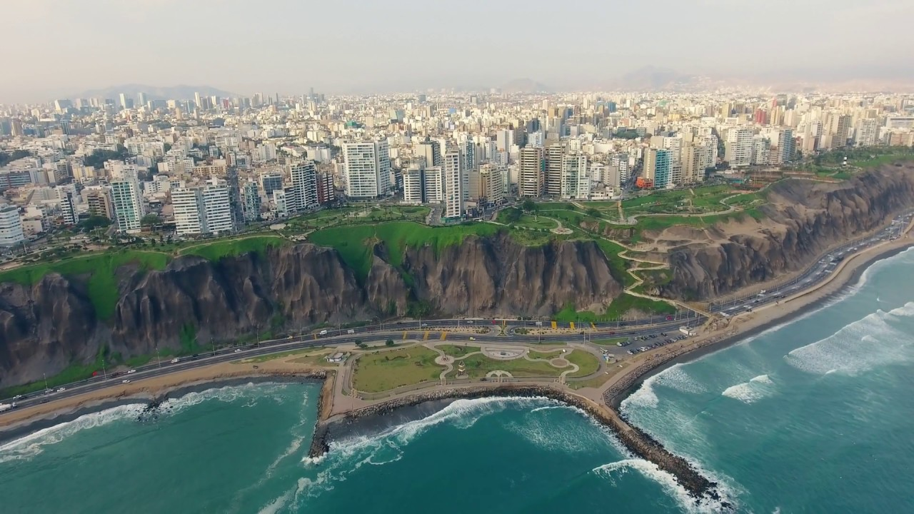 Lima Peru From Above 4k Drone Travel Film Youtube