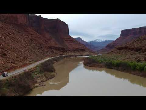 DJI Spark video in Nebraska, Colorado, and Utah