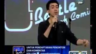 Stand Up Comedy Battle Of Comic Metro TV 12 Maret 2013   part 2