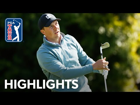 Jordan Spieth holes approach for eagle at AT&T Pebble Beach | 2021