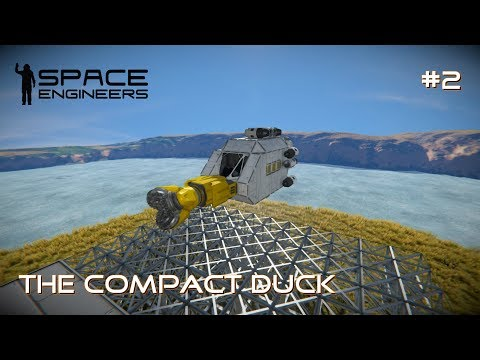 Our First Mining Ship! Space Engineers Survival Let's Play Episode 2