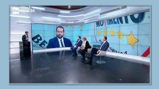 Fabio Massimo Castaldo ospite a RaiNews/Studio24 - 15/12/2017