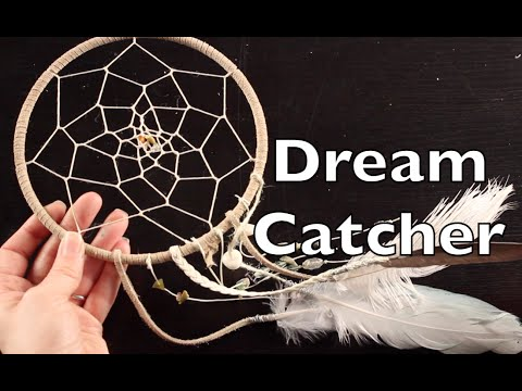 DIY Dreamcatcher How To Make A Dream Catcher Tutorial YouTube Awesome How To Build A Dream Catcher