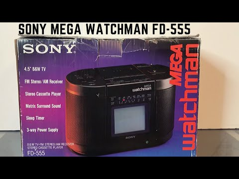 1988-vintage-sony-watchman-fd-555-b+w-portable-tv-unboxing