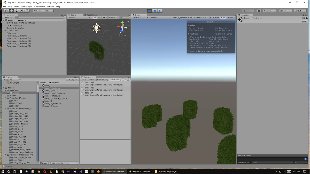 Pointcloud Engine for Unity: First Release Overview
