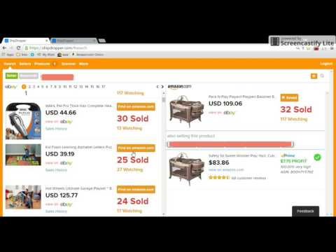 ShipDropper Full Tutorial - eBay Amazon Arbitrage DropShipping Scraper Tool. Hot Products Finder