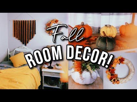 DIY FALL ROOM DECOR 2019! | 3 Easy and Cheap Ideas!
