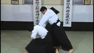 ч7-1 #защита стоя от удара сверху Дайторю #айкидзюдзюцу айкидо #Уэсиба Морихеи #aikido