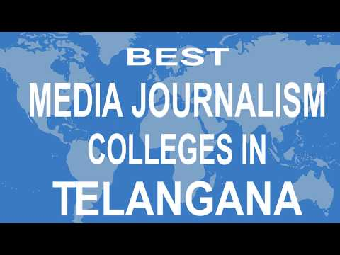 Best Media Journalism Colleges And Courses  In Telangana