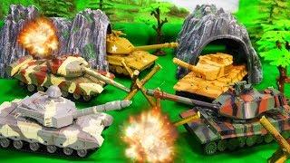 Танки против военных машин