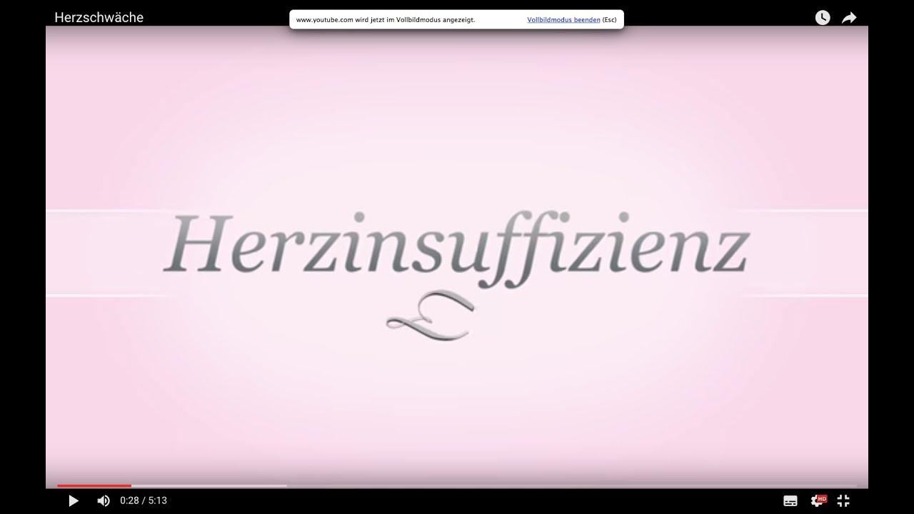 herzinsuffizienz, herzschwäche 2016 aktuell - youtube