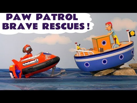 Paw Patrol Brave Rescues - Toy Stories for Kids and Children with Thomas and Friends Trains Tt4U