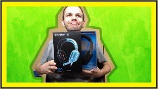 Logitech G35 gaming headset unboxing és teszt