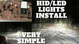 4RUNNER HID/LED HEADLIGHT INSTALL HOW TO