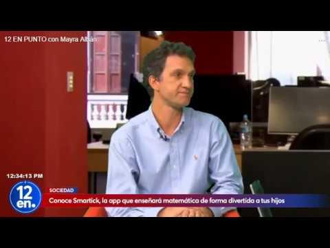 Smartick - Perú: Diario La República, Programa a las 12, Entrevista a Javier Arroyo