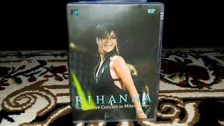 Unboxing Rihanna - DVD Live Concert in Milan (FAN MADE)