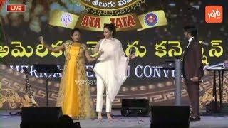 Actress Trisha & Anchor Suma Dance at ATC Dallas | Jabardasth Sudigali Sudheer | YOYO TV Channel